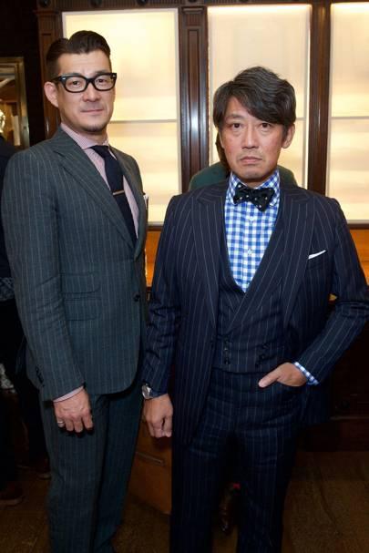 Naritomo Tanaka & Hirofumi Hayashi