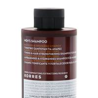 Magnesium and wheat proteins men's shampoo by Korres