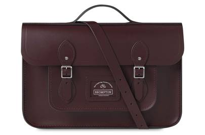 The Cambridge Satchel Company x Brompton Bicycle satchel