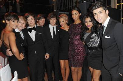The Saturdays and One Direction