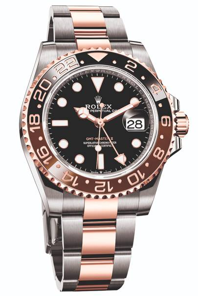 GMT Master II Everose Rolesor