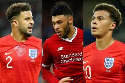 single england football players