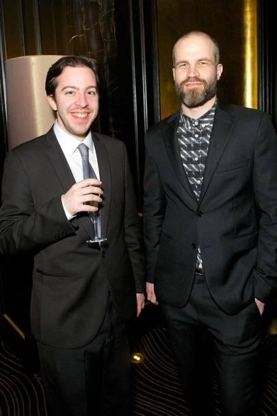 Ollie Goldman and Tim Hunter