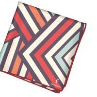 Summer Retro Lines Pocket Square by Pocket Square Club