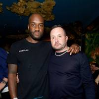 Virgil Abloh and Kim Jones