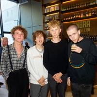 Liam Haygarth, Rat Boy, Harry Todd and Noah Booth