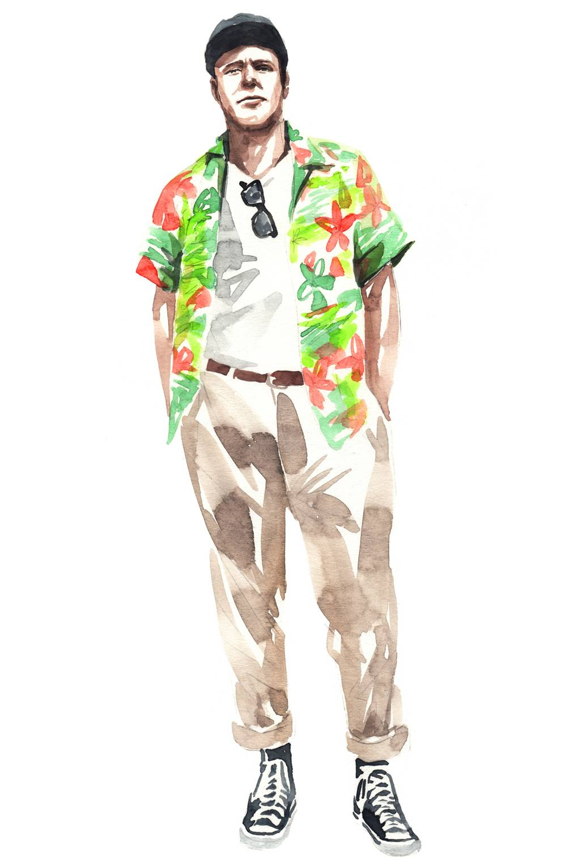 37a68d46 How to wear a Hawaiian shirt | British GQ