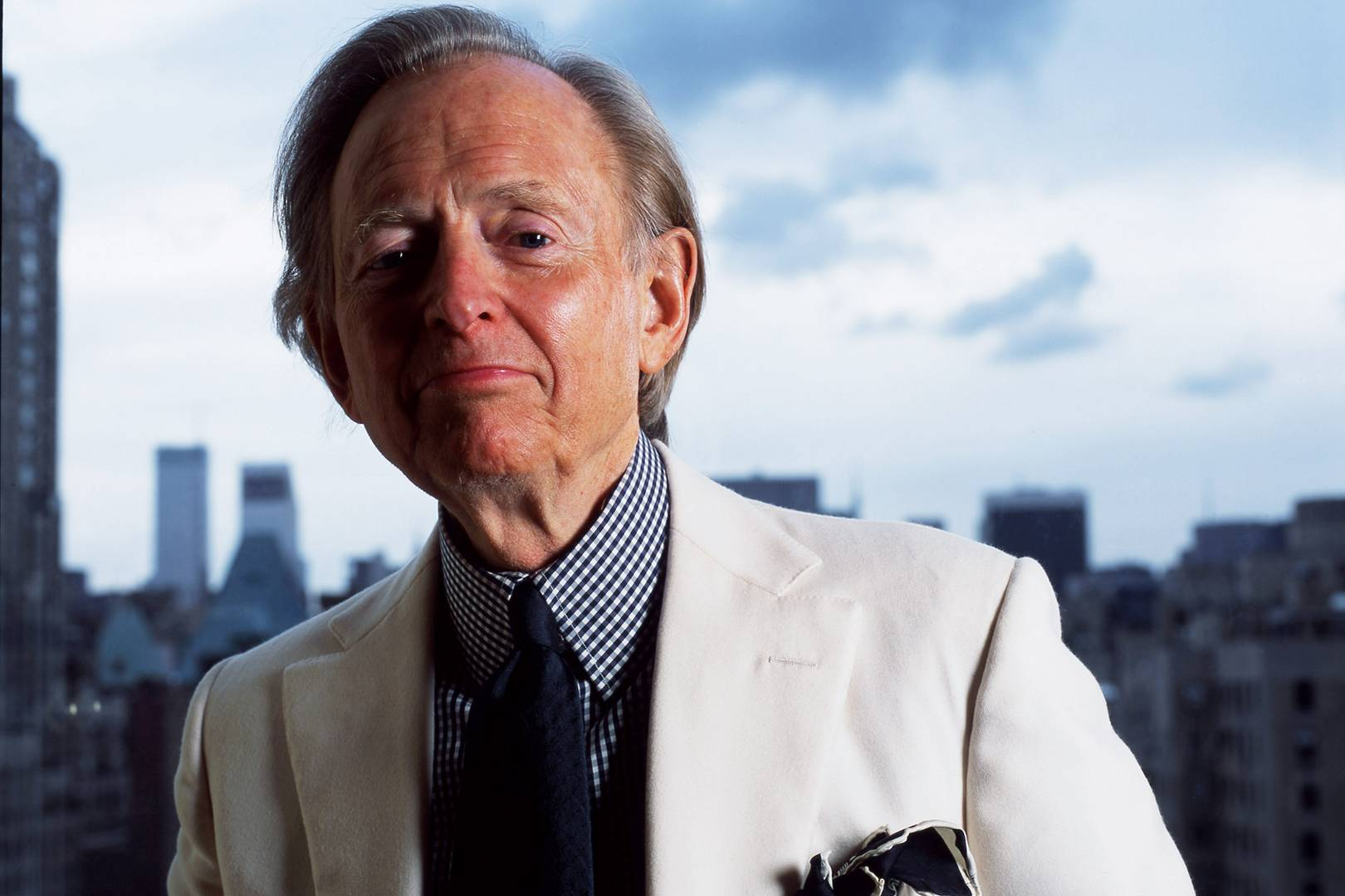 Author Harvey Wolfe >> Tom Wolfe Wasn T Just A Writer He Was A Brand British Gq