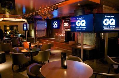 GQ Food and Drink Awards venue, 100 Wardour Street