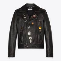 Biker jacket by Yves Saint Laurent