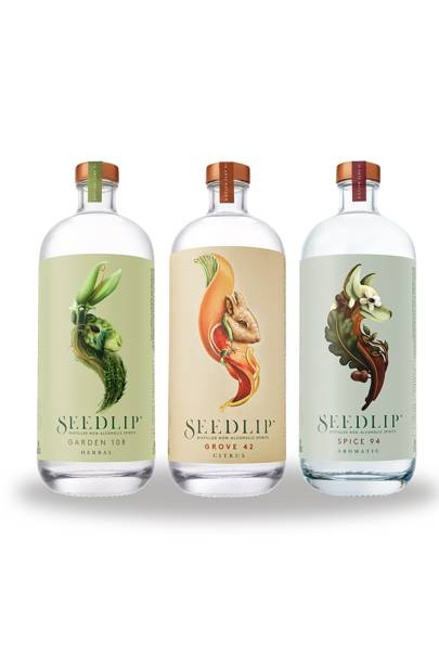 Non-alcoholic spirits like Seedlip