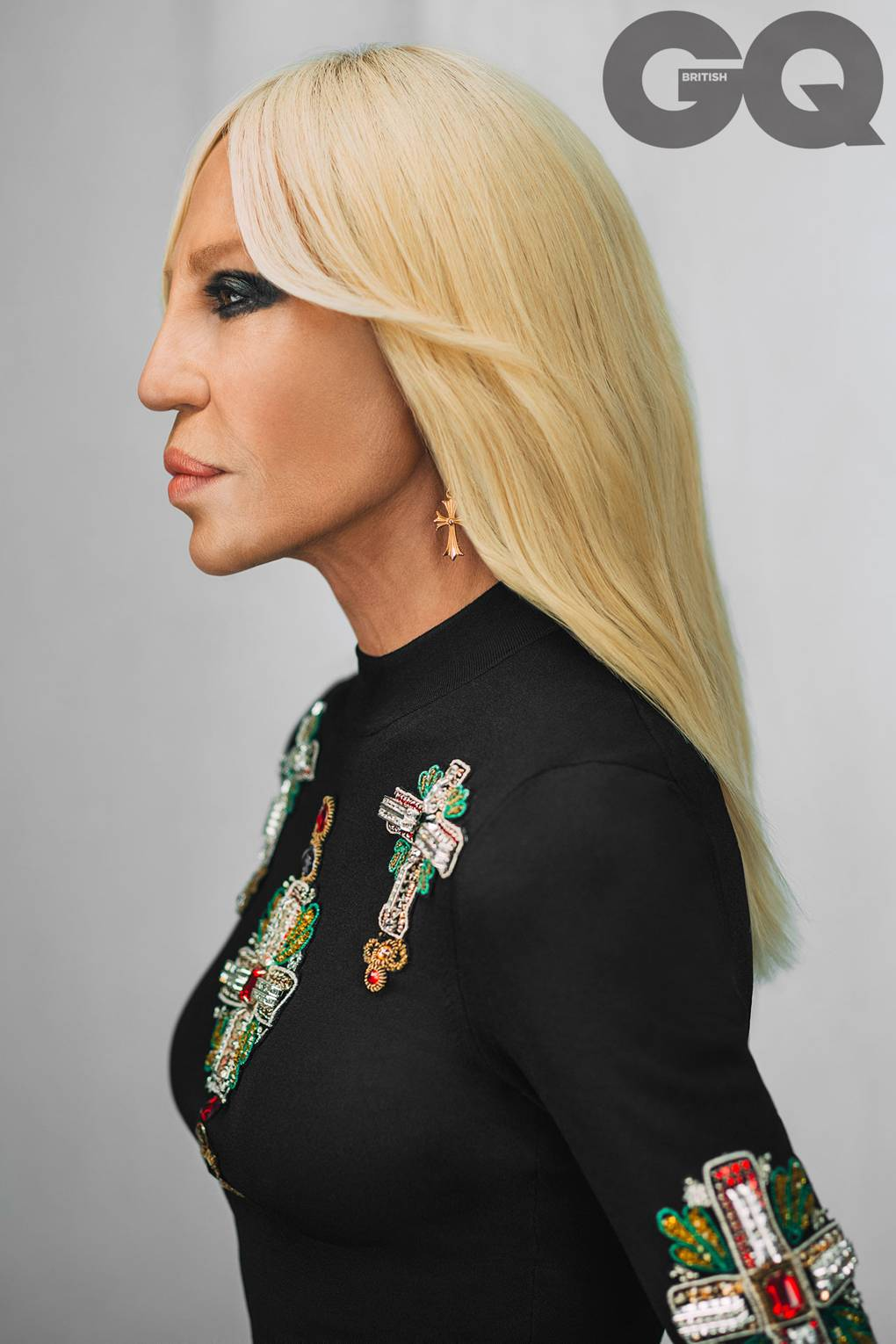 1441b9c2b672 Donatella Versace interview: 'I want the company to stay forever' | British  GQ