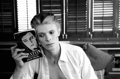 Bowie with Keaton Book, New Mexico