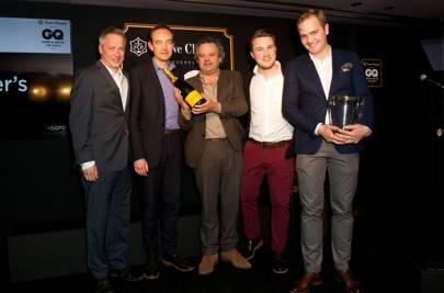 Mark Hix presents best restaurant winner, Kitty Fisher's