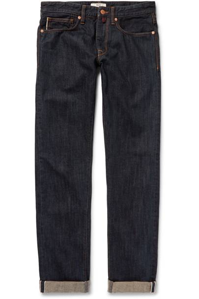 Incotex dark wash Selvedge jeans