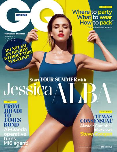 Jessica Alba - August 2014