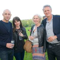 Mark Strong, Liza Marshall, Louise Chunn and Andrew Anthony