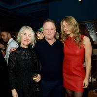 Justine Simons, Nick Jones and Celia Walden