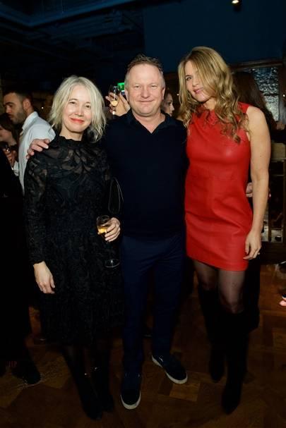 Justine Simons, Nick Jones and Celia Walden