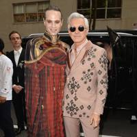 Jordan Roth and Baz Luhrmann