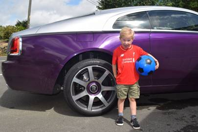 We try to use a Rolls Royce Wraith as a family car