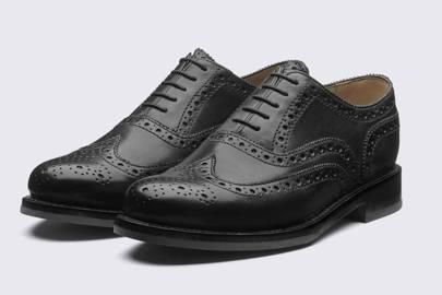 Smart black shoes