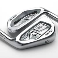 34. Mizuno forged iron golf clubs (Forge a head)