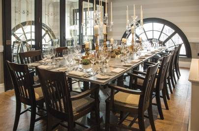 Best new private dining rooms in england british gq for Best private dining rooms manchester