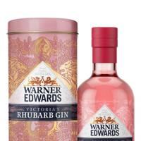 Warner Edwards rhubarb gin gift tin