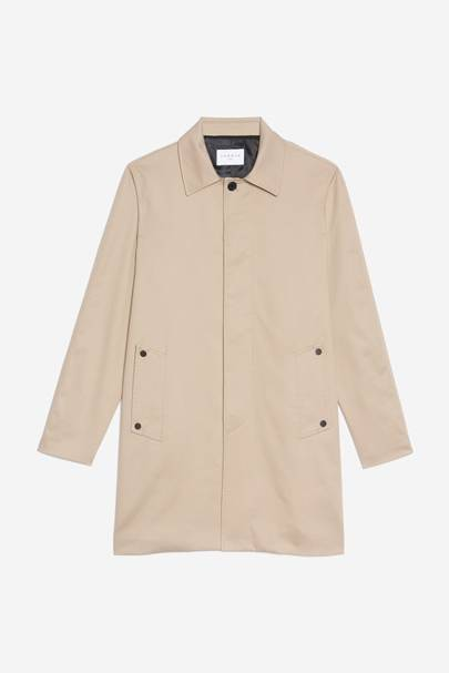 Cotton raincoat by Sandro