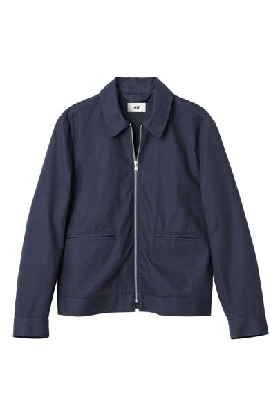 David Beckham H&M Modern Essentials Harrington jacket
