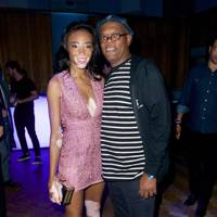 Winnie Harlow and Samuel L Jackson