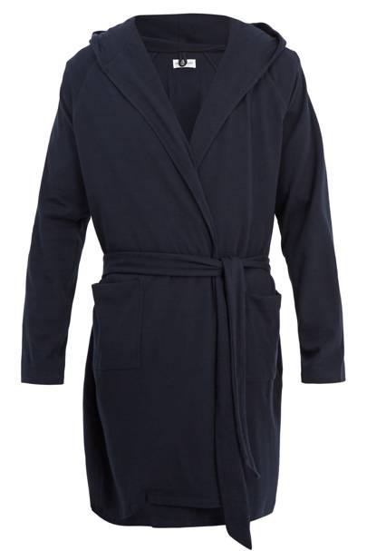 Cashmere and cotton dressing gown by Hamilton & Hare