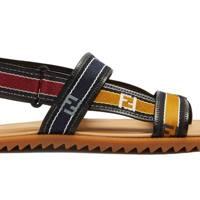 Logo sandals by Fendi