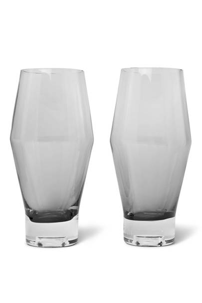 18. Tom Dixon Tank beer glasses