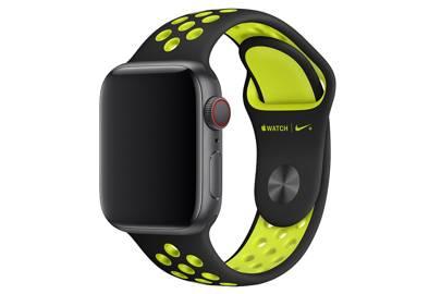 Apple Black/Volt Nike Sport Band