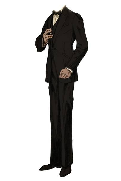 Jay Gatsby's Brooks Brothers tuxedo