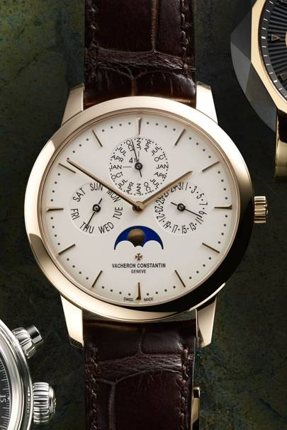 Patrimony Perpetual Calendar in rose gold by Vacheron Constantin
