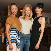 Lilly Becker, Toni Garrn and Erin O'Connor