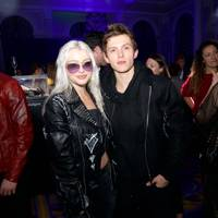 Alice Chater and Tom Holland