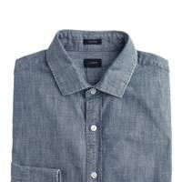J Crew Ludlow chambray dress shirt