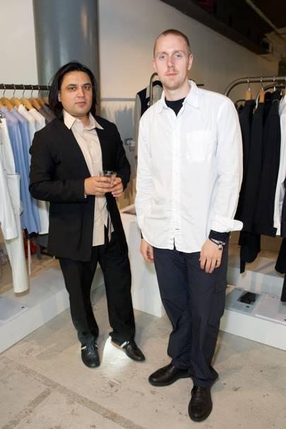 Omar Afridi and Hugo Edwards