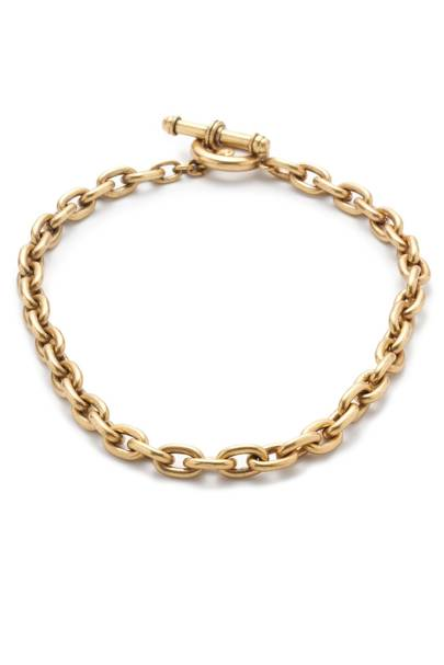 J.Crew's Anchor Lock necklace