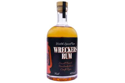 Wreckers Rum by The Pembrokeshire Distillery
