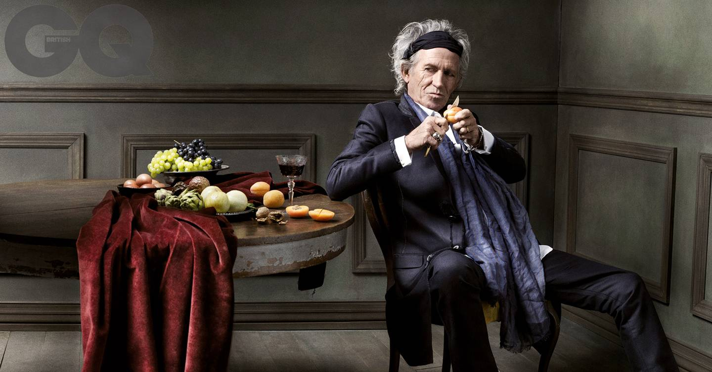 Rolling Stone Keith Richards Interview On Life Gq Men Of