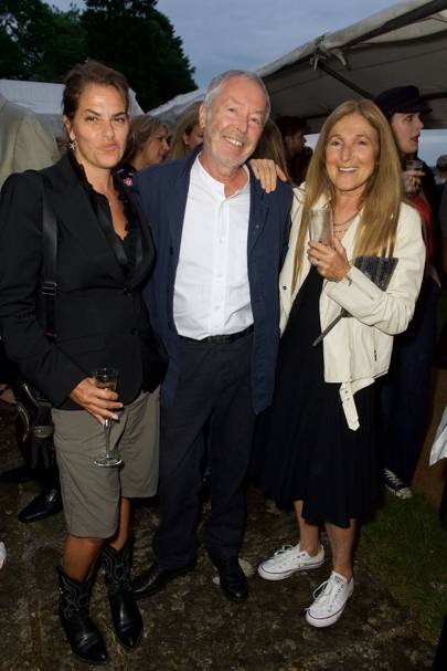 Tracey Emin, Terry Jones and Tricia Jones