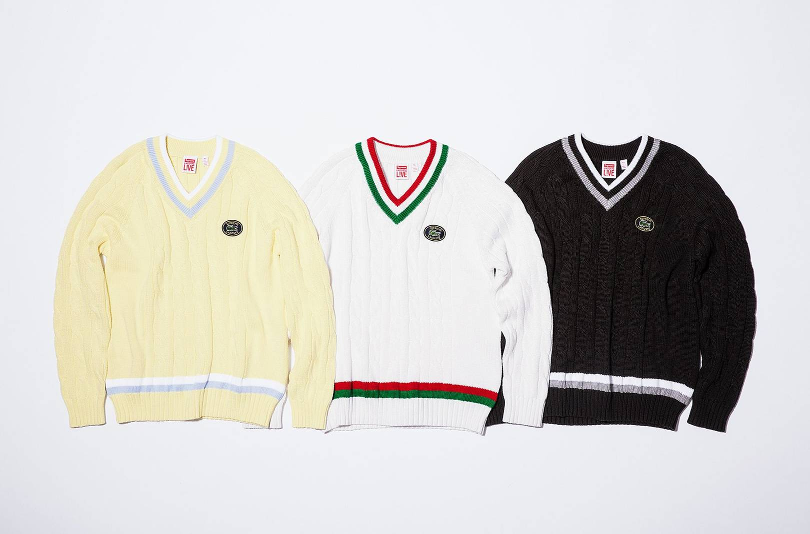 Supreme x Lacoste Spring 2017  every item plus prices  402e93c74455