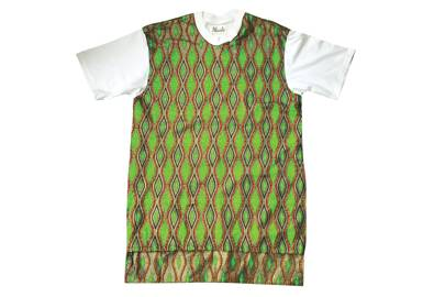 Snake African Print Longline Top by Made By Lizzy
