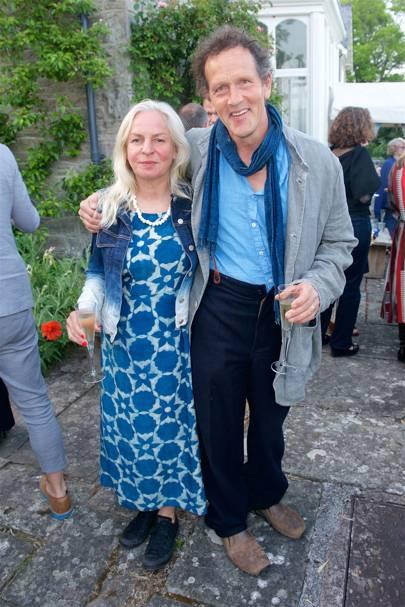 Sarah and Monty Don