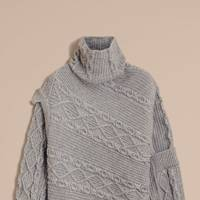 Burberry cable knit